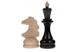 Шахматные фигуры деревянные большие