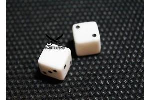 Игральные кубики (зары) из искусственного камня