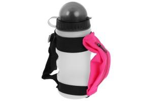 Бутылка спортивная на руку с сумочкой