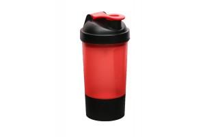 Шейкер спортивный с чашей под протеин