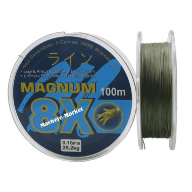 Леска плетенка 8 жильная magnum 8x 100м