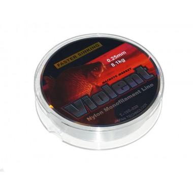 Леска флюорокарбоновая Violent 30м