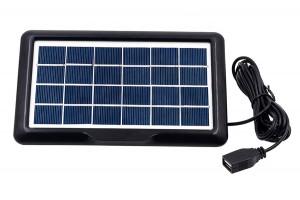 Солнечная панель с USB для зарядки устройств 2W 6V
