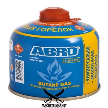 Газ для портативных горелок ABRO 230 г