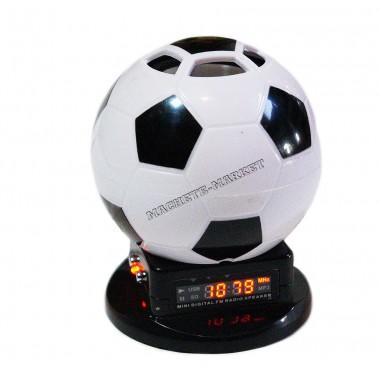 """Мобильная колонка """"Футбольный мяч"""" FM/USB/TF"""