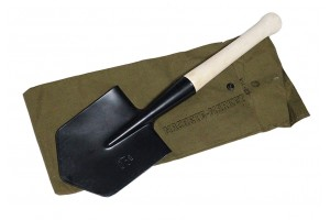 Малая пехотная лопата МПЛ-50 с чехлом