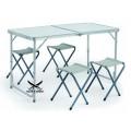 Стол складной туристический + 4 стула