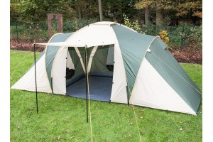 Палатка кемпинговая 3-х комнатная шестиместная  LY-1699-3