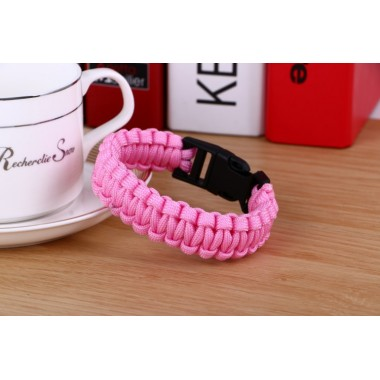 """Браслет - паракорд """"Pink"""""""