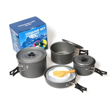 Набор посуды для кемпинга DS-500