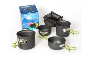 Набор посуды для кемпинга DS-201