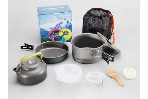 Набор посуды для кемпинга DS-308
