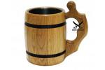 Пивная кружка из дерева