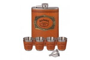 Подарочный набор с фляжкой Jack Daniels