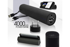 Колонка-зарядка Power Bank 3 в 1 Power Jam